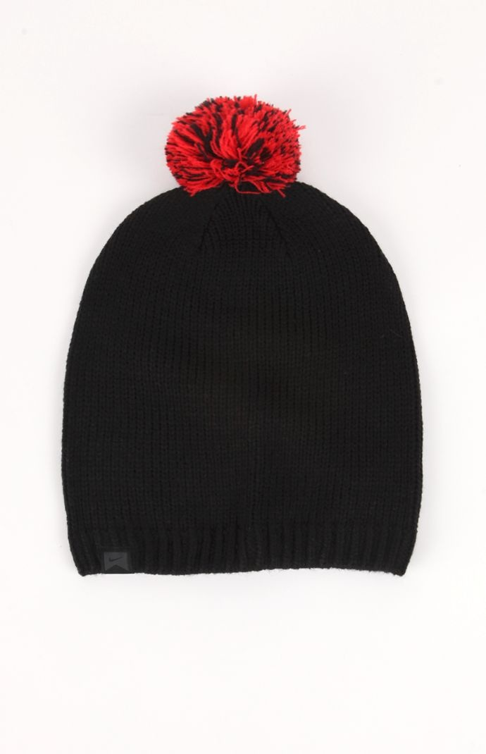 Click Image Above To Purchase: Mens Nike Hats - Nike Pom Pom Basic Beanie