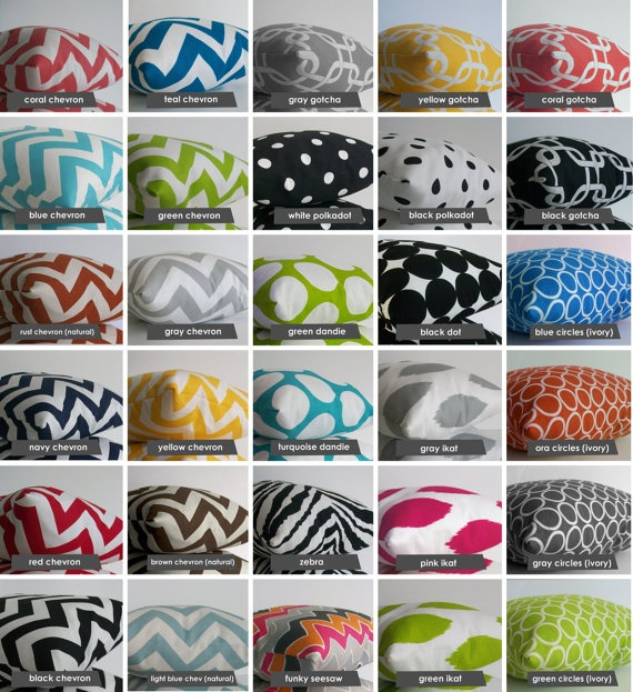 18 x 18 inch Pillow Cover  Pick A Design by skoopehome on Etsy, $22.50
