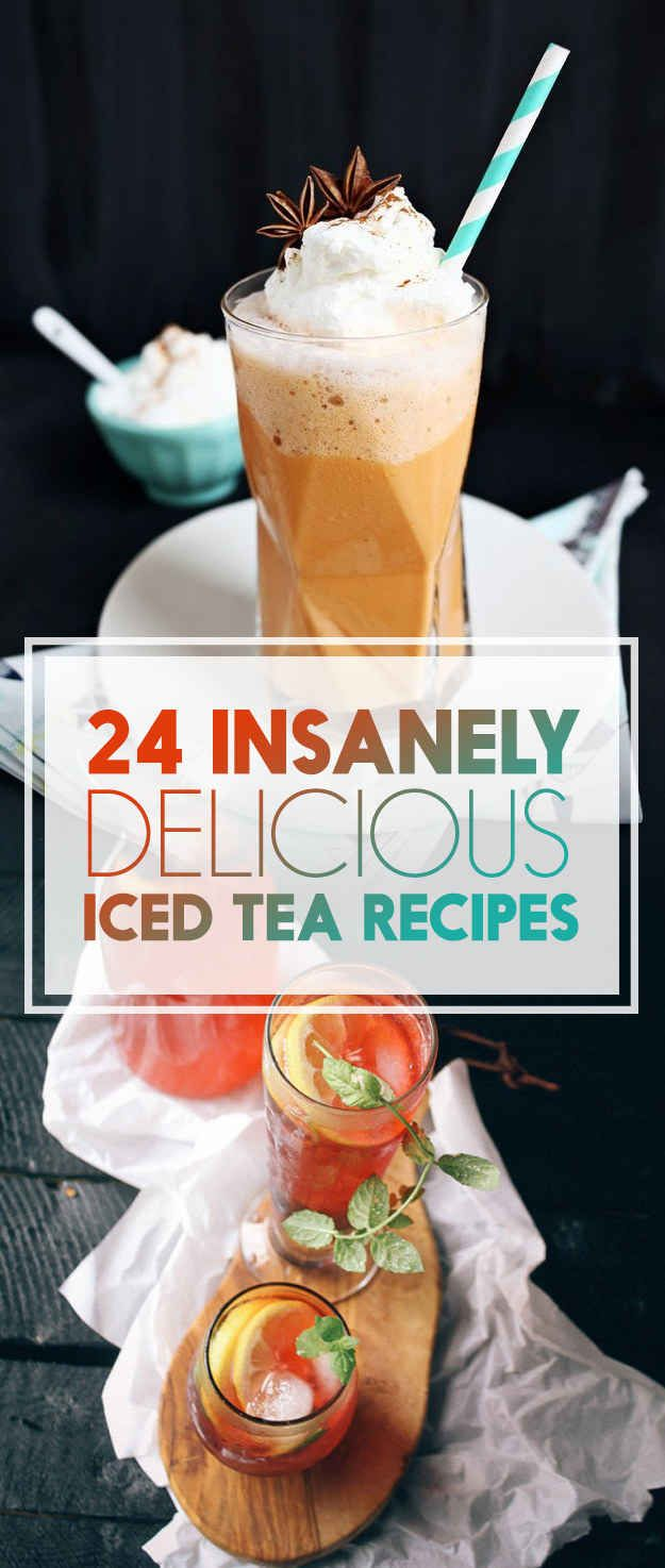 24 Delicious Ways To Take Your Iced Tea Up A Notch