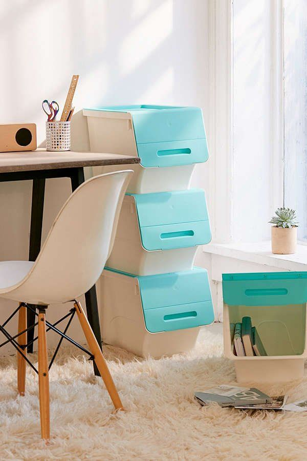 Stackable Storage Box Set   Urban Outfitters