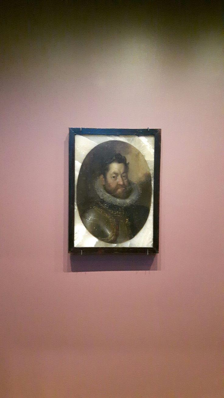 Olio su Alabastro. Rodolfo II. 1600 circa. Norimberga Germanisches Nationalmuseum