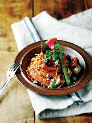 【ELLE a table】大人のためのナポリタン 西洋わさび風味レシピ|エル・オンライン