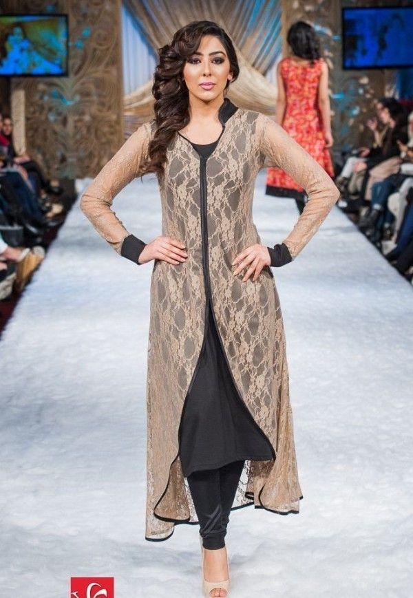 Stylish Dresses For Girls In Fashion Week 2015   #Dresses #FashionWeek #StylishDresses