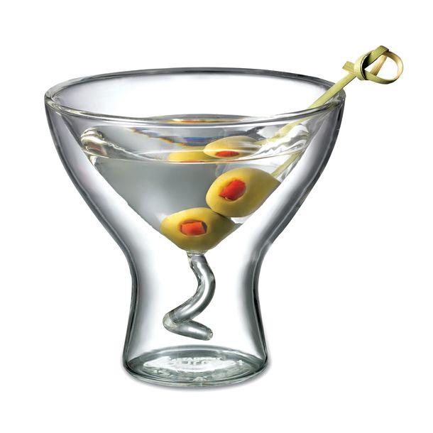 martini glass set of 2