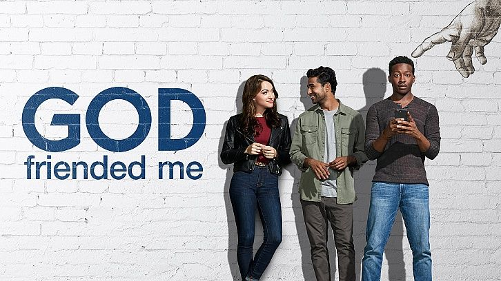 God Friended Me Episode 1 09 King S Gambit Promo Promotional Photos Press Release Tv Series To Watch God Trouble With The Curve