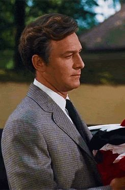 """Christopher Plummer as Captain Georg von Trapp in """"The Sound of Music"""", 1965"""