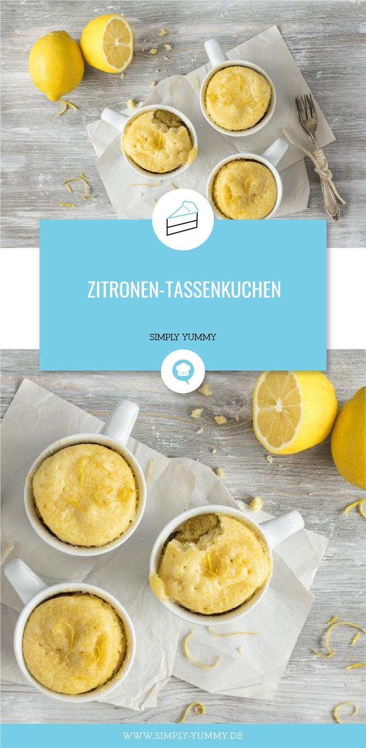 Zitronen-Tassenkuchen – International Desserts