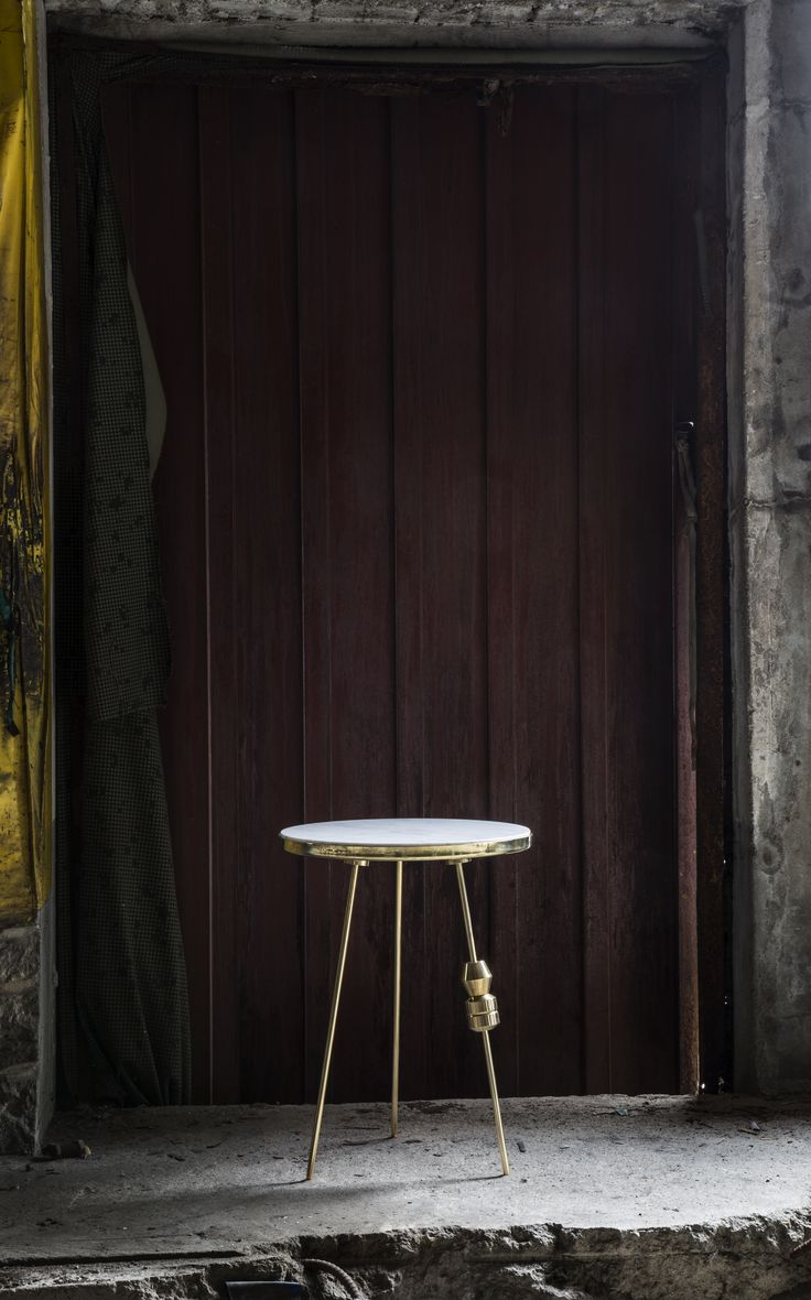 Richarm Table 01 (Customized Version)   Arabescato + Copper (H:500)  marble table. metal table #furniture #design #marble #marbletable #Metal #sidetable www.richarmgroup.com