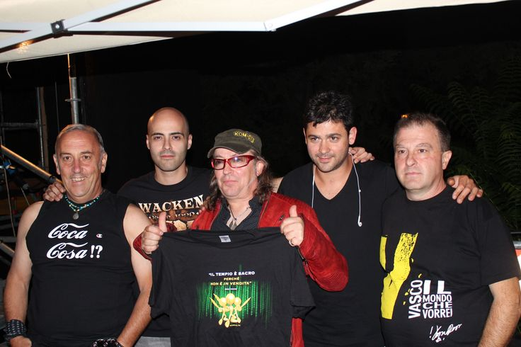 Colpa d'Alfredo Band - #cover band di #vasco #rossi ad #atreju 2013
