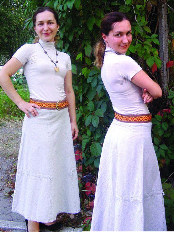 Autumn Woven Belt Custom Handmade Woven Belt Vegan Belt