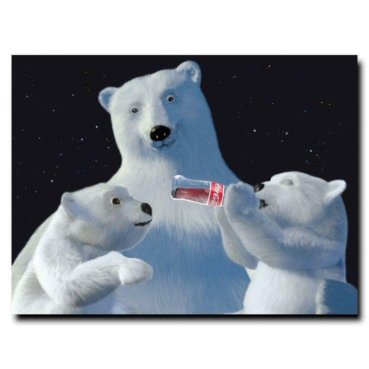 15 best Coca Cola Polar Bears images on Pinterest | Polar bear ...