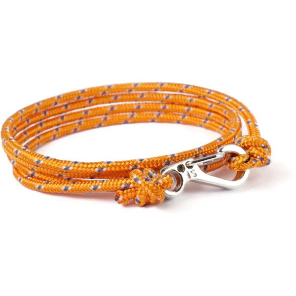 Orange Silver Climber Rope Bracelet Carabiner Bracelet Men's Bracelet... (175 ZAR) ❤ liked on Polyvore featuring men's fashion, men's jewelry, men's bracelets, mens cord bracelet, mens bracelets, mens rope bracelet, mens watches jewelry and mens silver bracelets