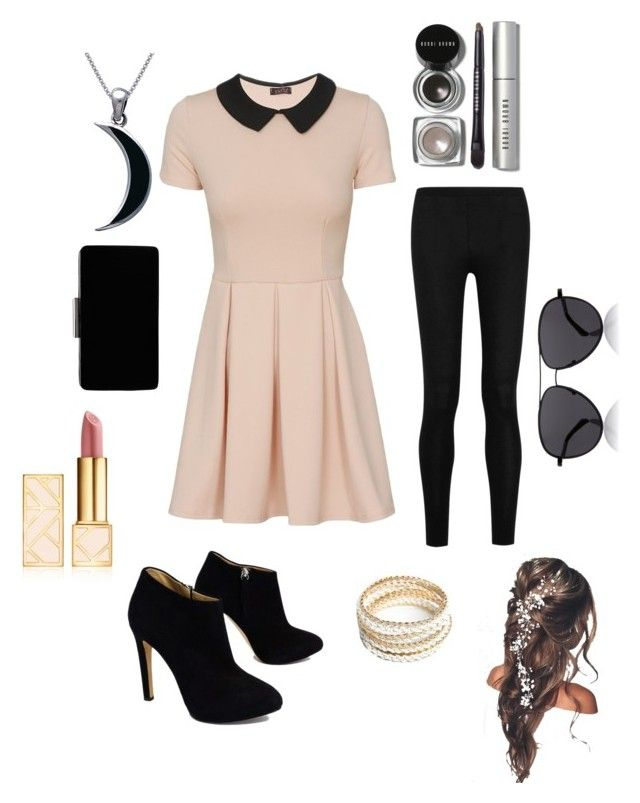 """""""Fancy day out"""" by lilibelsan ❤ liked on Polyvore featuring Donna Karan, Giuseppe Zanotti, John Lewis, ZooShoo, Carolina Glamour Collection, Tory Burch, Bobbi Brown Cosmetics and The Row"""