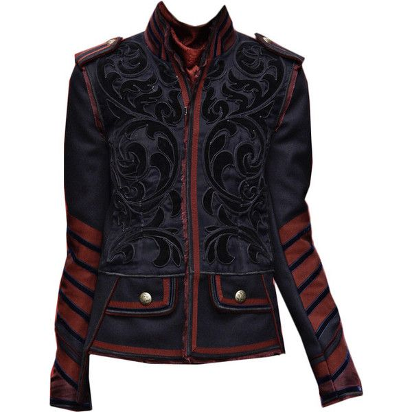 D&G RTW A/W 2009-10 ; edit by cloudcastles ❤ liked on Polyvore featuring jackets, outerwear, coats and edits