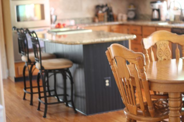 For the Island in my kitchen: {Updating The Abode} - Bead Board Kitchen Island Reveal