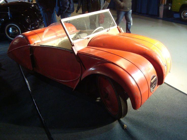 1946 Josef Ganz Swiss built Rapid Micro car