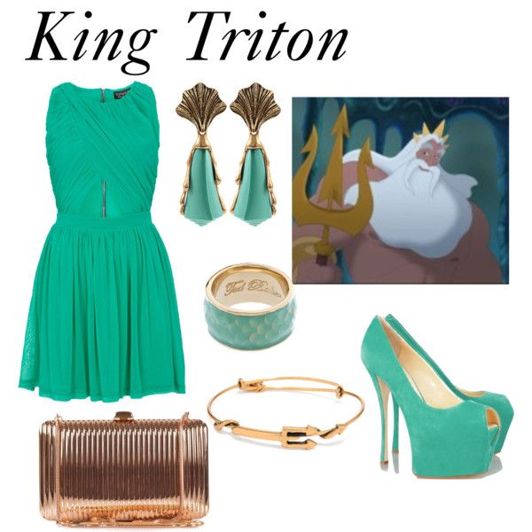 """King Triton"" by morgan-graves on Polyvore"