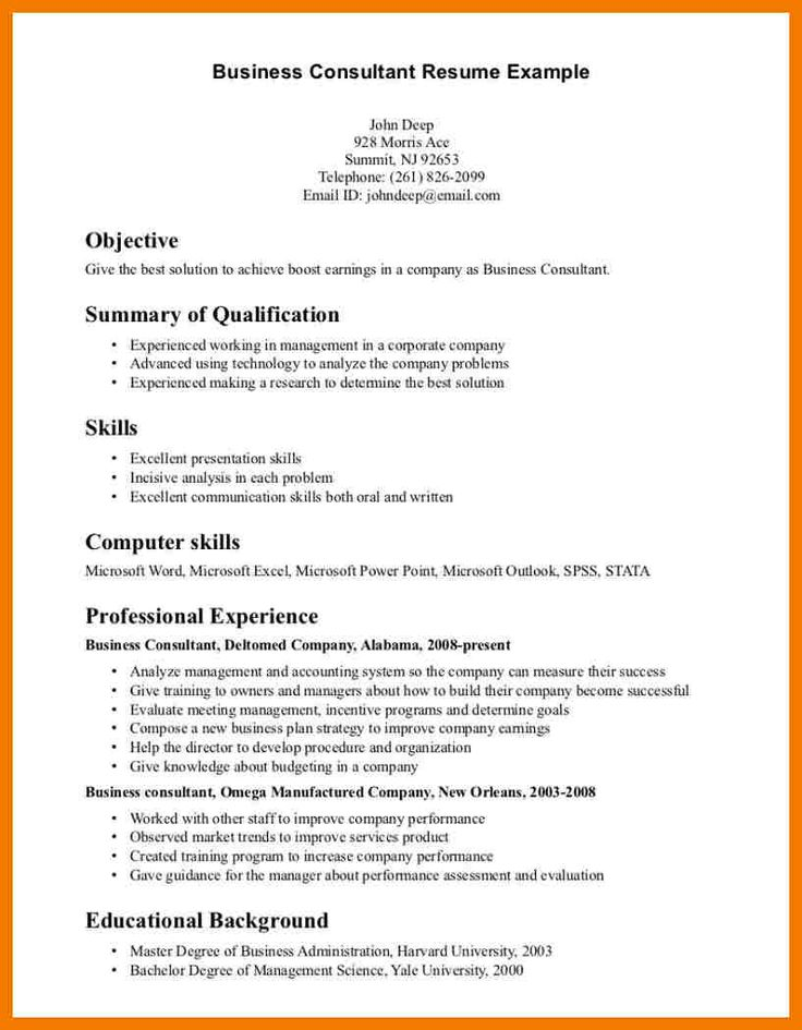 Business Analyst Resume Template  Free Samples Examples Resume