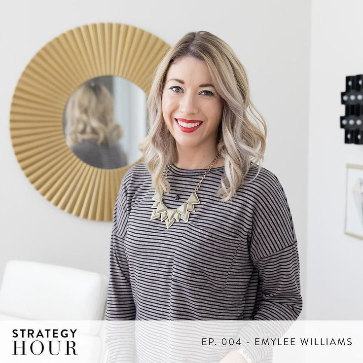 Today over on The Strategy Hour Podcast you get to hear from @emyleesays. Were sitting down interview style and going over the ways in which Emylee was able to carve her own creative path in a recession world. Did you know she never got a Real job after college? So since graduation shes been her own boss (sometimes as a cupcake baker and sometimes as a photographer). In this episode she goes over the lessons she quickly learned while working for free as a photographer and how she was able to…