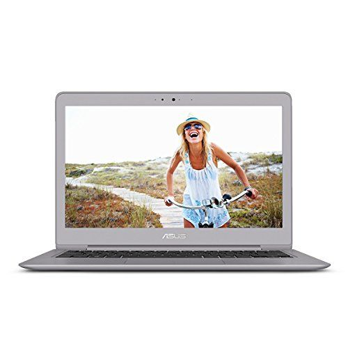 ASUS Zenbook UX330UA-AH54 13.3-inch Full-HD Quartz Grey Laptop Core i5 8GB RAM 256GB SSD Fingerprint with Windows 10
