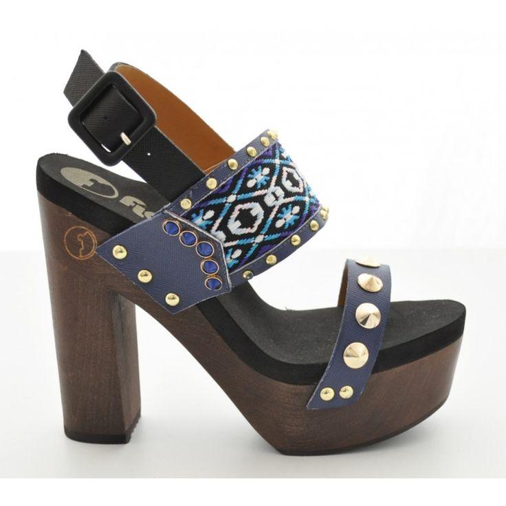 john-andy.com | Flogg Rica Blue heels