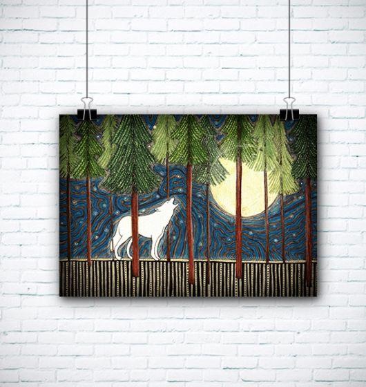 #wilk #wolf #illustration #ilustracja #grafika #art #domanska #atelio