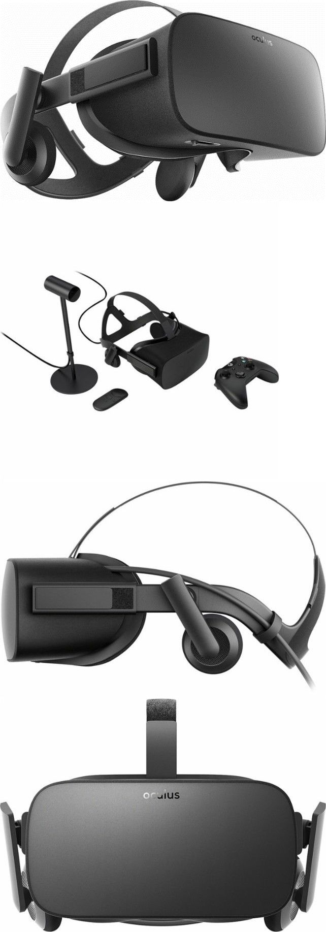 PC and Console VR Headsets: Oculus Rift Vr Virtual Reality Headset With Xbox One Controller New -> BUY IT NOW ONLY: $422.95 on eBay!