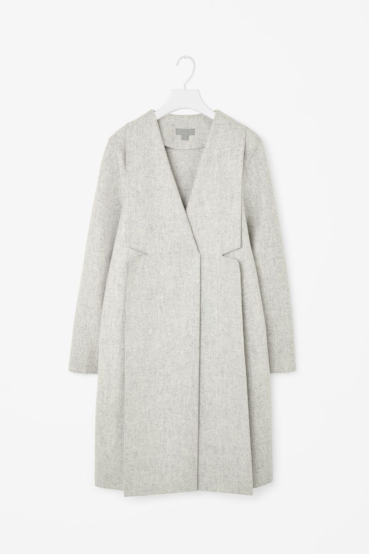 COS Structured wool coat