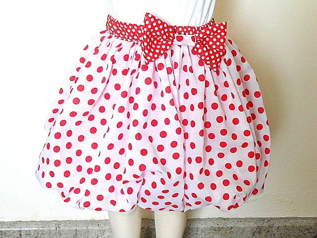 I love the polka dots!