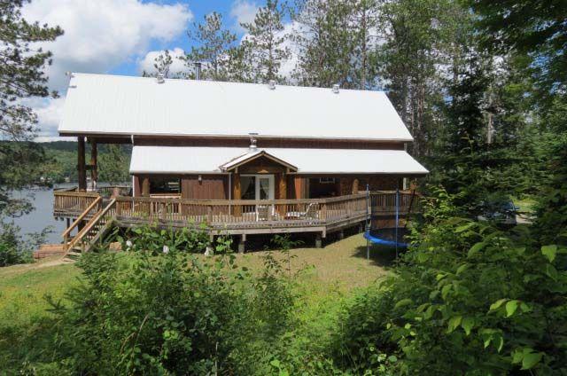 Luxury Haliburton Lake Cottage   YourCottageRentals