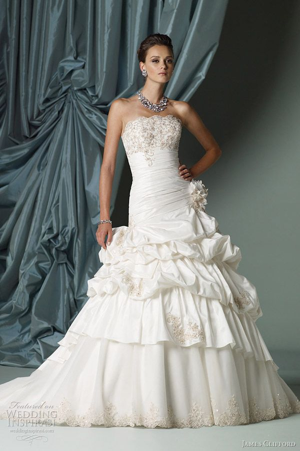 James Clifford Wedding Dresses — Spring 2012 Bridal Collection | Wedding Inspirasi