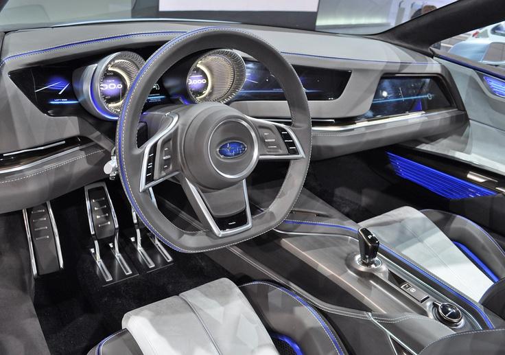 2013 Subaru Viziv Concept Revealed at Geneva Motor Show