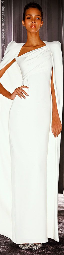 Tom Ford sexy white column gown