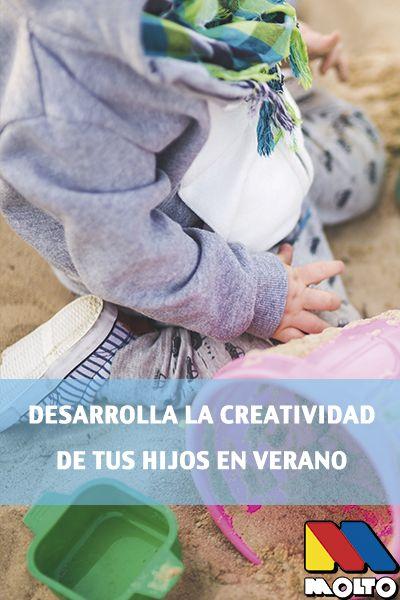 El verano seguimos desarrollando la creatividad de los niños en la playa, en el campo, en casa... y nos preparamos para la vuelta al colé #niños #familia #madres #padres #hijos #creatividad