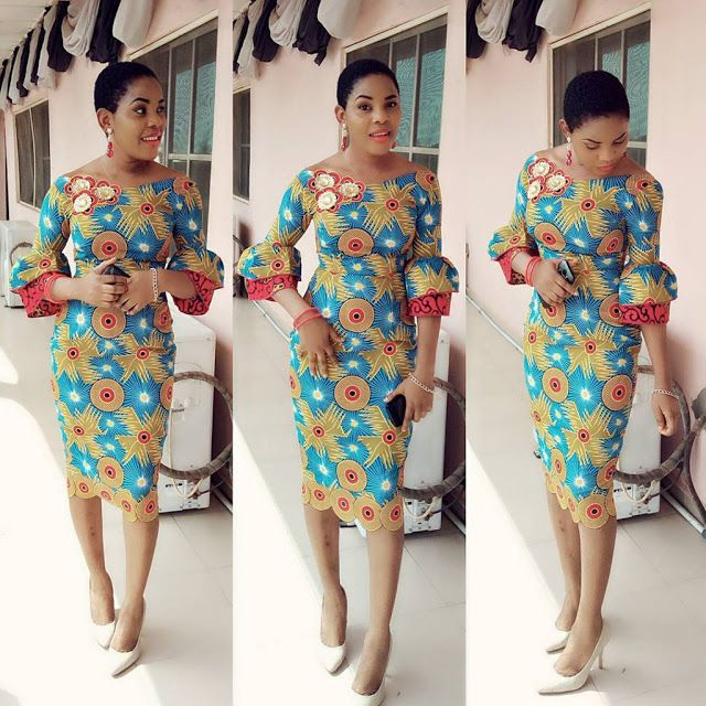 Check Out This Lovely Ankara Gown Style Ankara Styles African