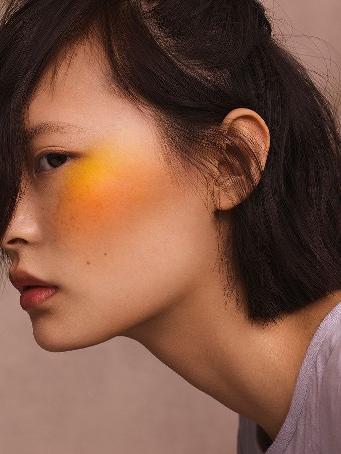 Makeup Artist Siddhartha Simone For British Marie Claire March 2017 In 2020 Editorial Makeup Aesthetic Makeup Makeup Looks