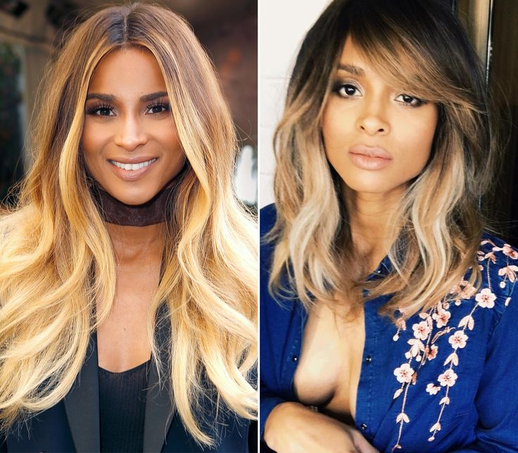 See the Celebrity Hair Makeovers of 2017 - Ciara from InStyle.com