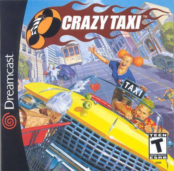 """Crazy Taxi #dreamcast    """"Let's make some CRAZY money!"""""""