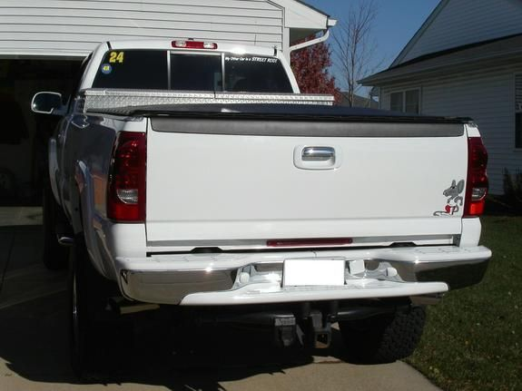 Any White Painted Rear Bumper Pads Chevy Truck Forum