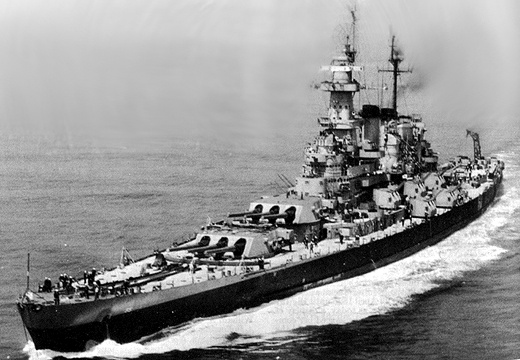 BB-55 USS North Carolina