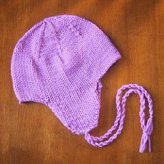 Of all of the things I've ever made, the project that gets the most compliments, hands down, are the earflap hats that I knit for my daughters. Everywhere we go it seems, people rave about how cute...