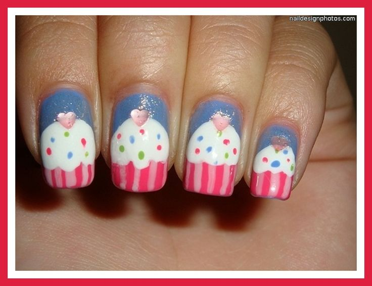 The 10 best nail art for Ozzlyn & Shannel images on Pinterest   Cute ...