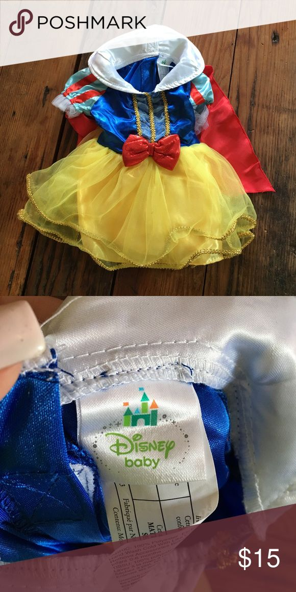 Snow White baby costume 0-3 month Snow White Disney baby costume. Costumes Halloween