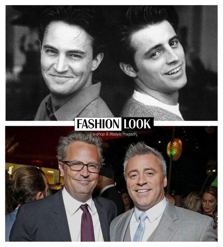 Joey a Chandler, trošku zostarli ale vkus a elegancia prislúchajúca k ich veku im veľmi sedí.. 5 bodov pre Chandlera za hipsterské okuliare.. #friends #fashionlook