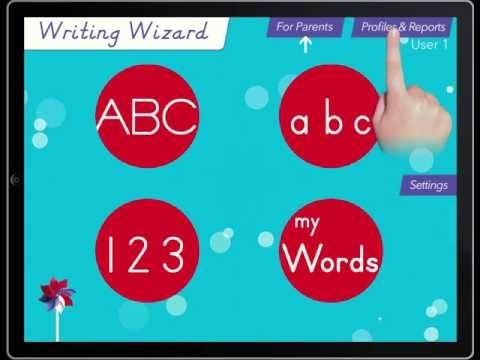 Writing Wizard - Kids Learn to Write Letters and Words - iPad Educational App