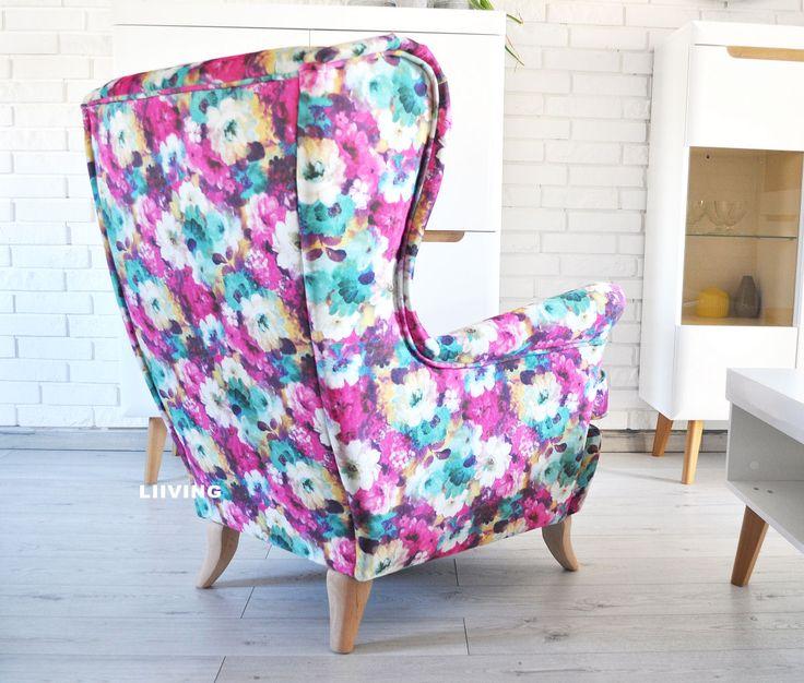 Fotel , który ożywi twoje wnętrze, super kwiat w najróżniejszych kolorach