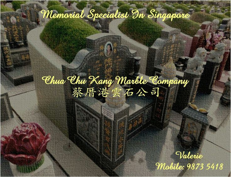 Contact Valerie at 98735418 for any enquiry. Email: valerie@cckmco.com.sg #customized #tombstones #lovedones #headstone #engraved #granite #marbleandgranite #marble #christiancemetery #buddhistcemetery #cemetery #memorialspecialist #memorial #specialist #singapore #specialized in #engraving  #tombstone #niche #departed #lovedones #calledhome #tagsforlikes #l4like #marbleplaque #followme #tag #chuachukangmarbl