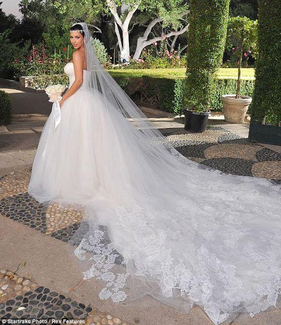 Kim K Dream Wedding Dress #wedding #gown #bridal