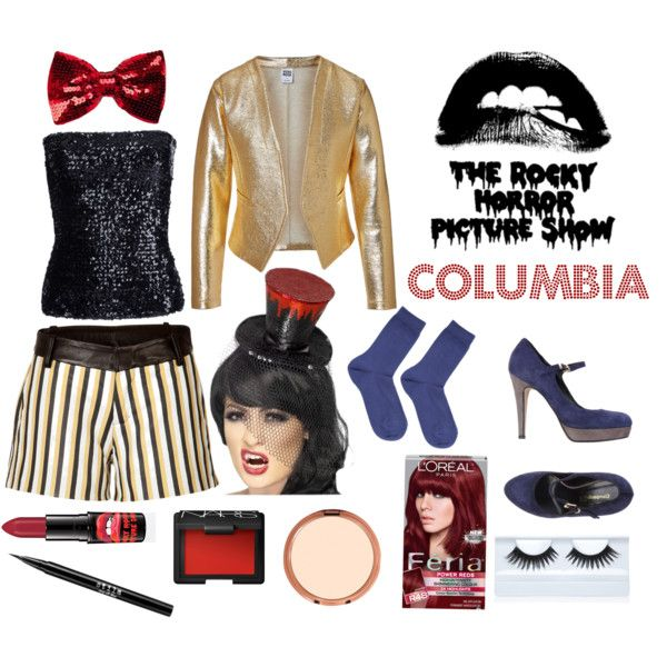 """""""The Rocky Horror Picture Show- Columbia"""" by abigailmariebrown on Polyvore"""