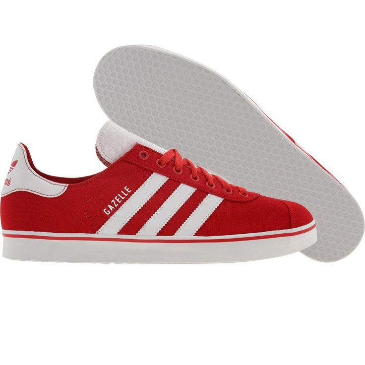 Adidas Gazelle RST shoes in light scarlet and runninwhite
